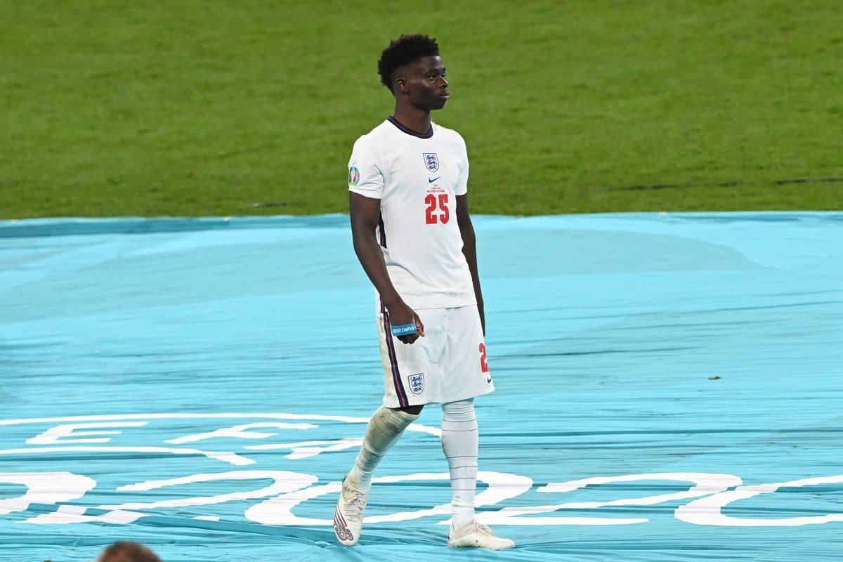 Nach Rassismus-Skandal bei EM-Finale: Nationalspieler Bukayo Saka äußert sich
