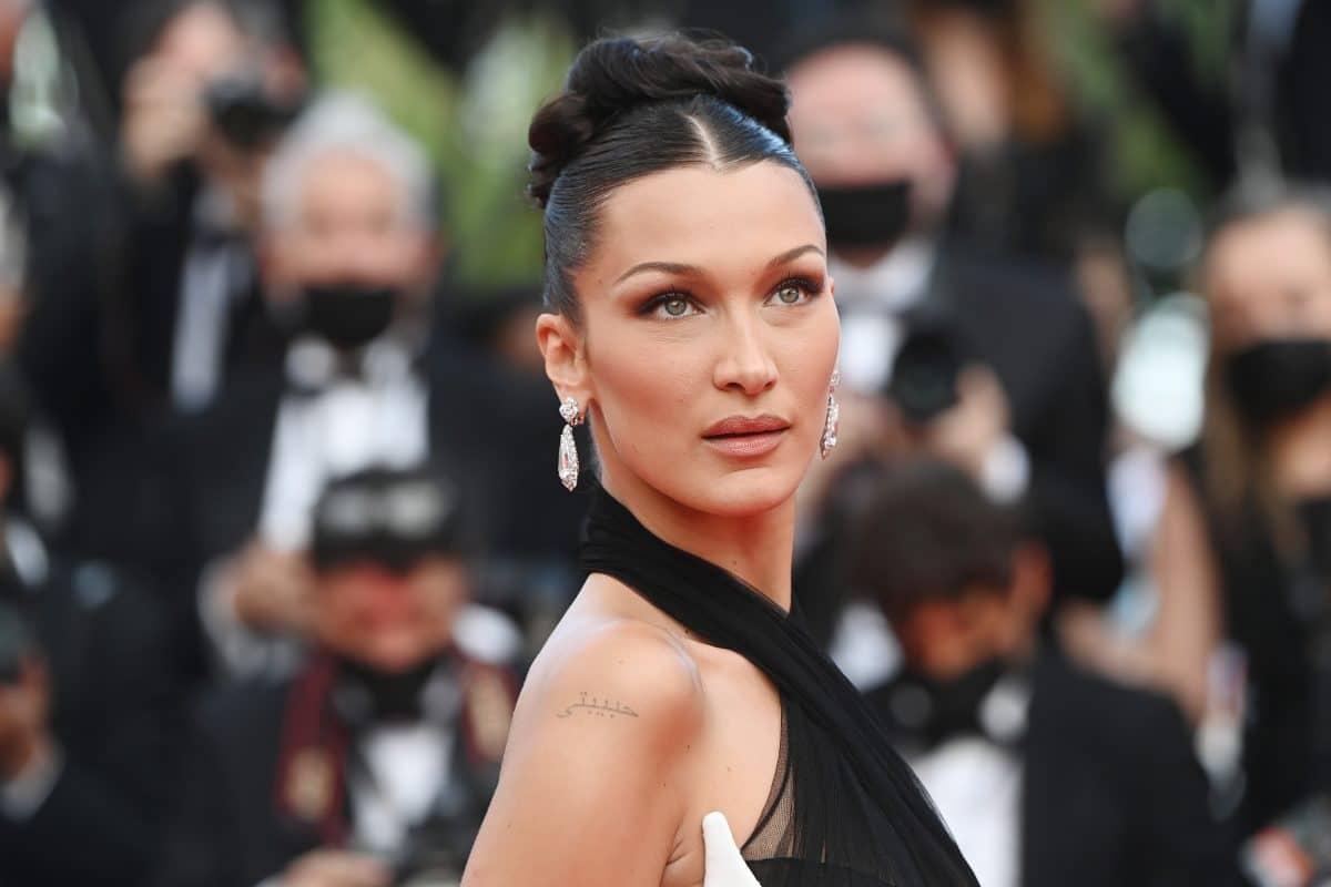 Wen knutscht Bella Hadid denn da in Cannes?