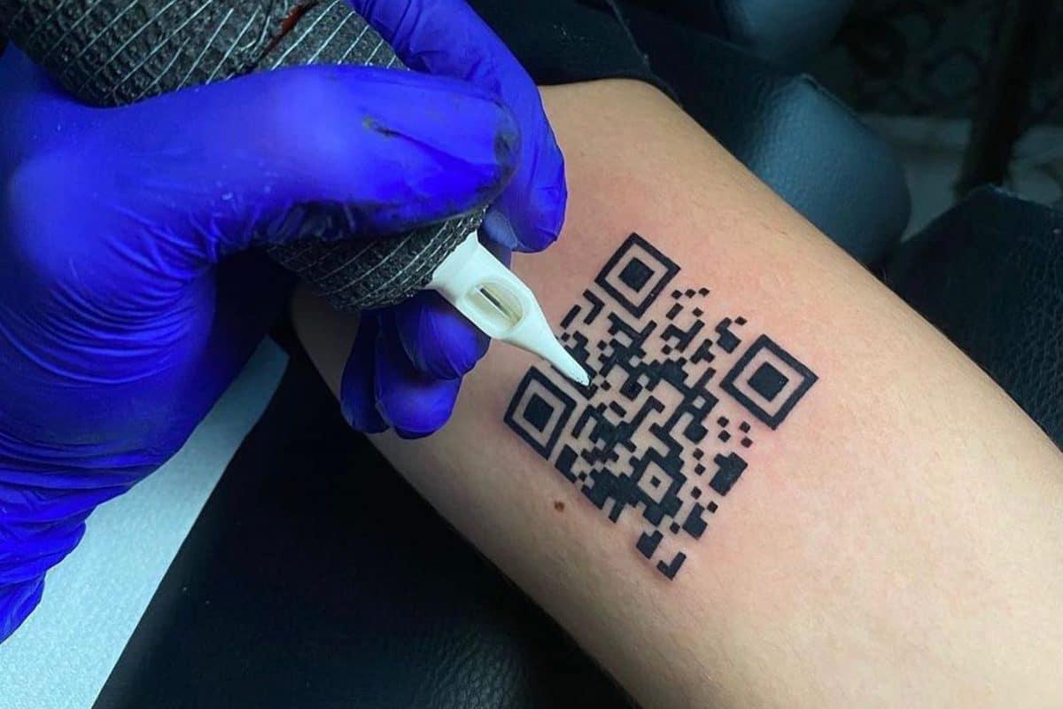 Corona-Impfpass auf der Haut: Italiener ließ sich QR-Code als Tattoo stechen