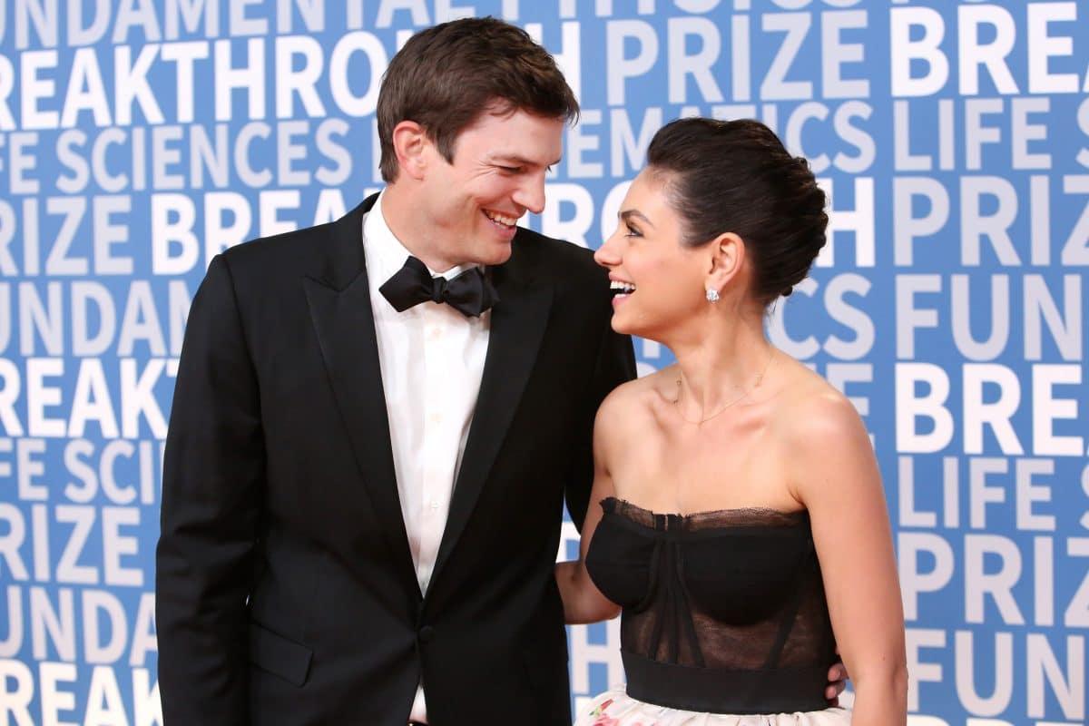 #Duschgate: Mila Kunis und Ashton Kutcher reagieren mit lustigem Video
