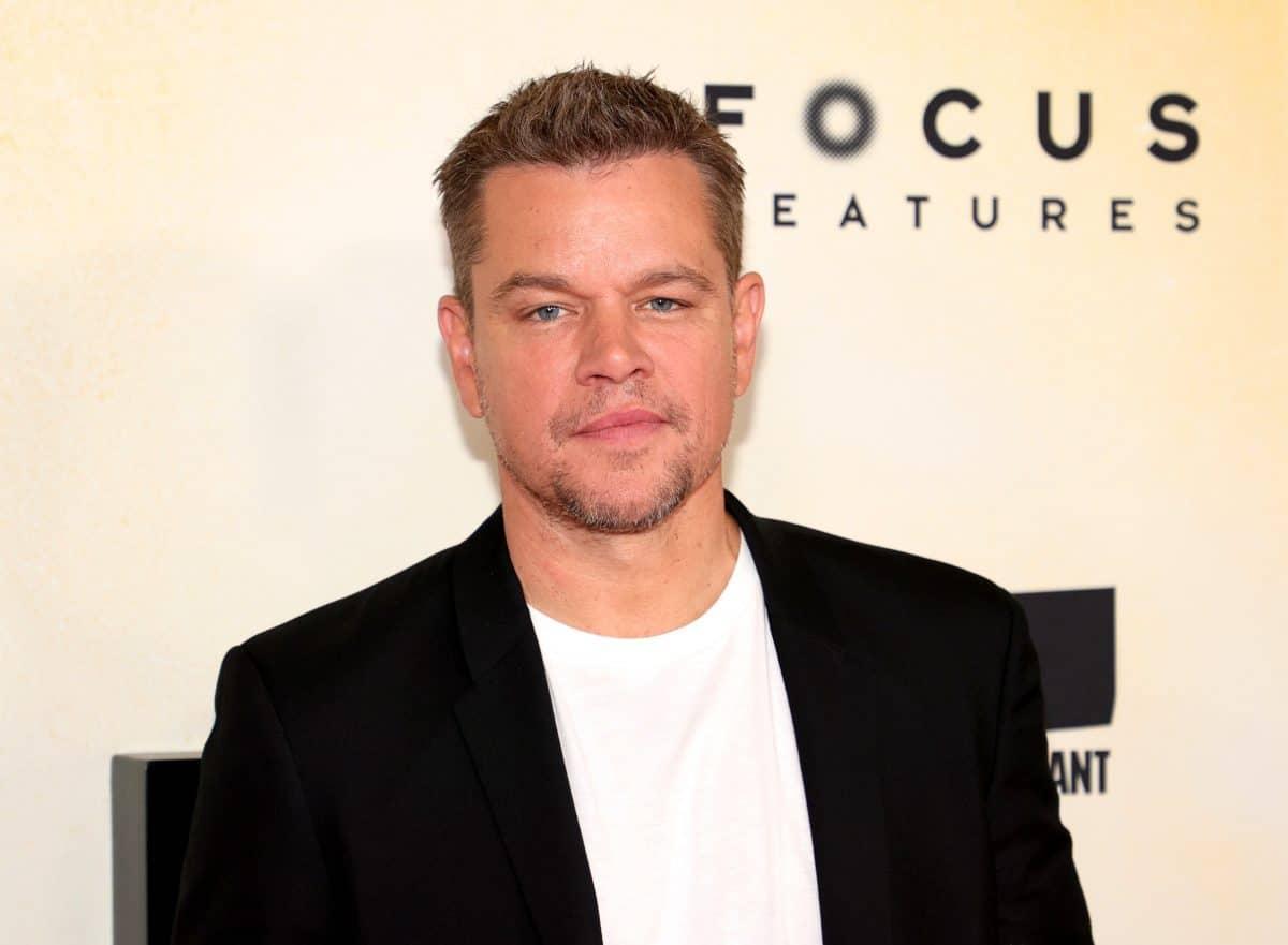Homophobes Schimpfwort: Matt Damon meldet sich nach Shitstorm selbst zu Wort