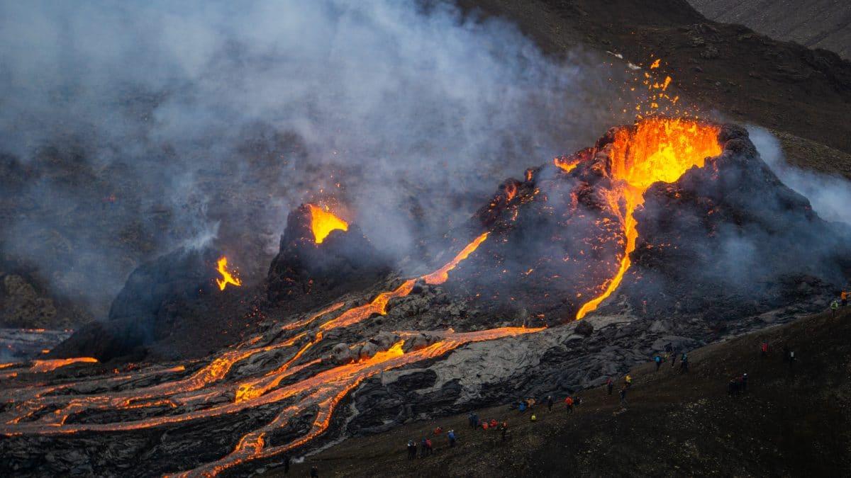 Ausgangssperre wegen Vulkanausbruch auf La Palma