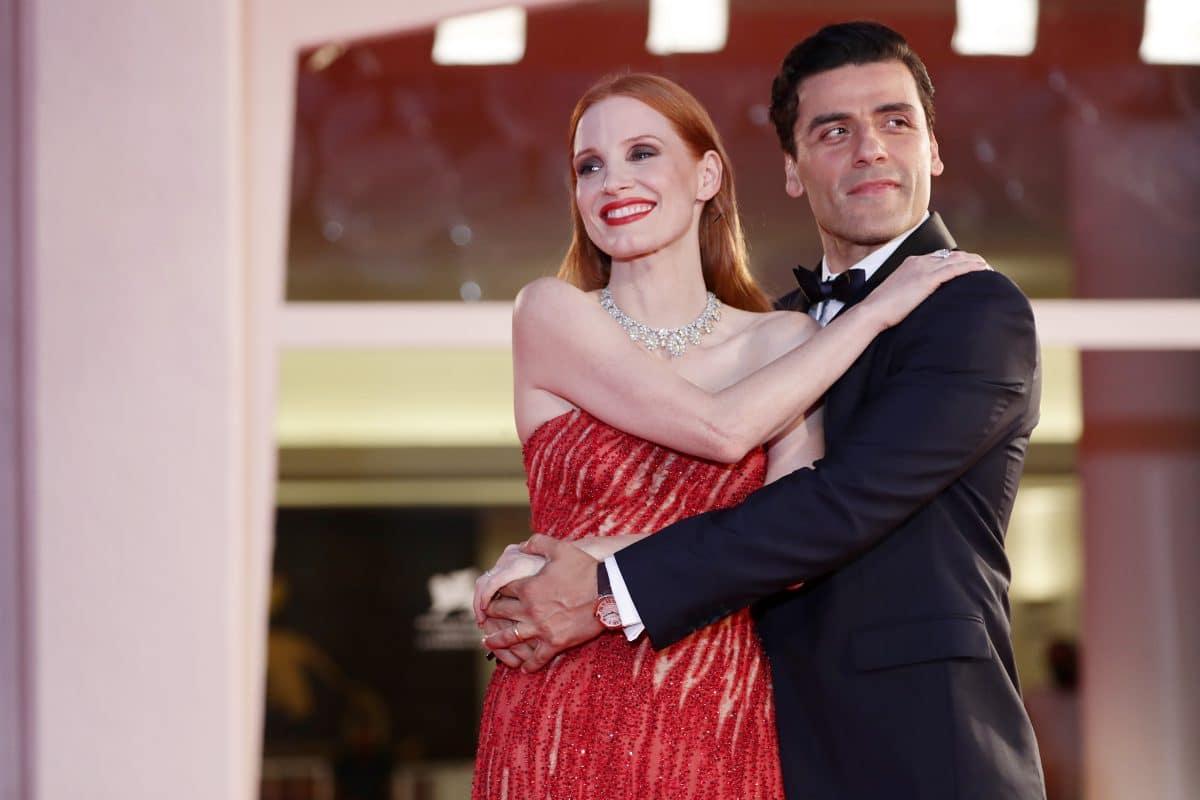 Red Carpet Video von Jessica Chastain und Oscar Isaac sorgt für Aufsehen