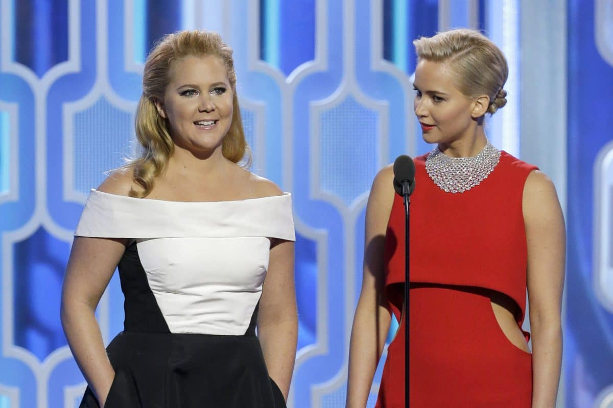 Jennifer Lawrence gemeinsam mit Amy Schumer bei Demo für Abtreibungsrecht