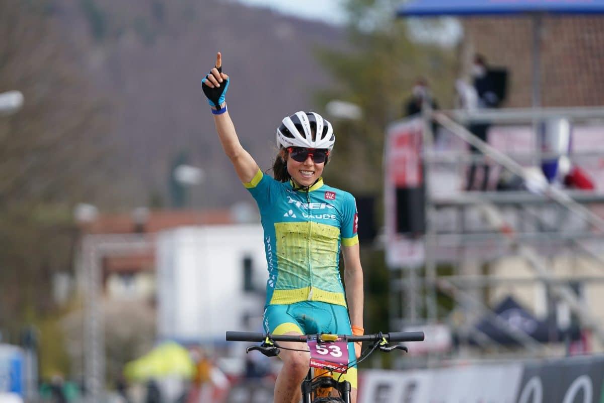 Tirolerin wird jüngste Mountainbike-Marathon-Weltmeisterin aller Zeiten