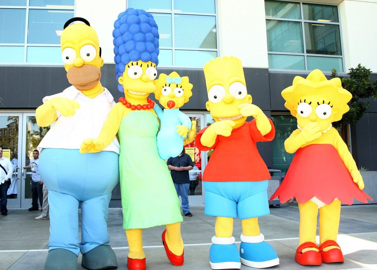 Die Simpsons hatten eine eigene Fashion-Show bei der Paris Fashion Week